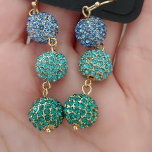 Charming Charlie turquoise and blue earrings